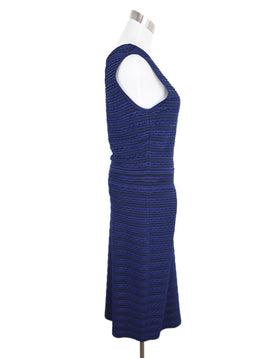 Christian Dior Blue Polyamide Dress 2