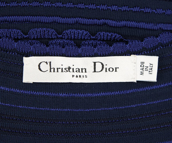 Christian Dior Blue Polyamide Dress 4
