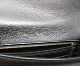 Christian Dior Metallic Pewter Leather Crossbody Bag with Chain Shoulder Strap 9