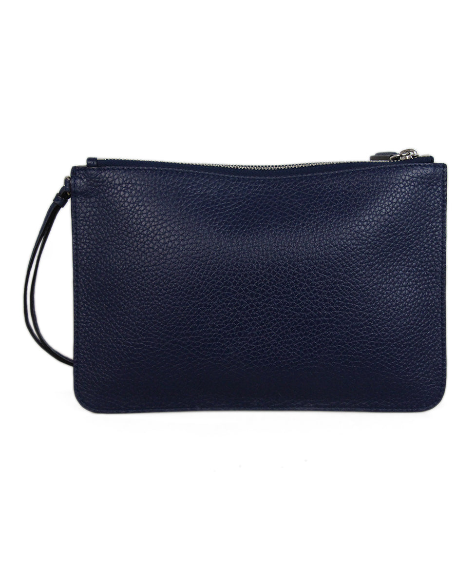 Christian Dior Navy Leather Wallet 3