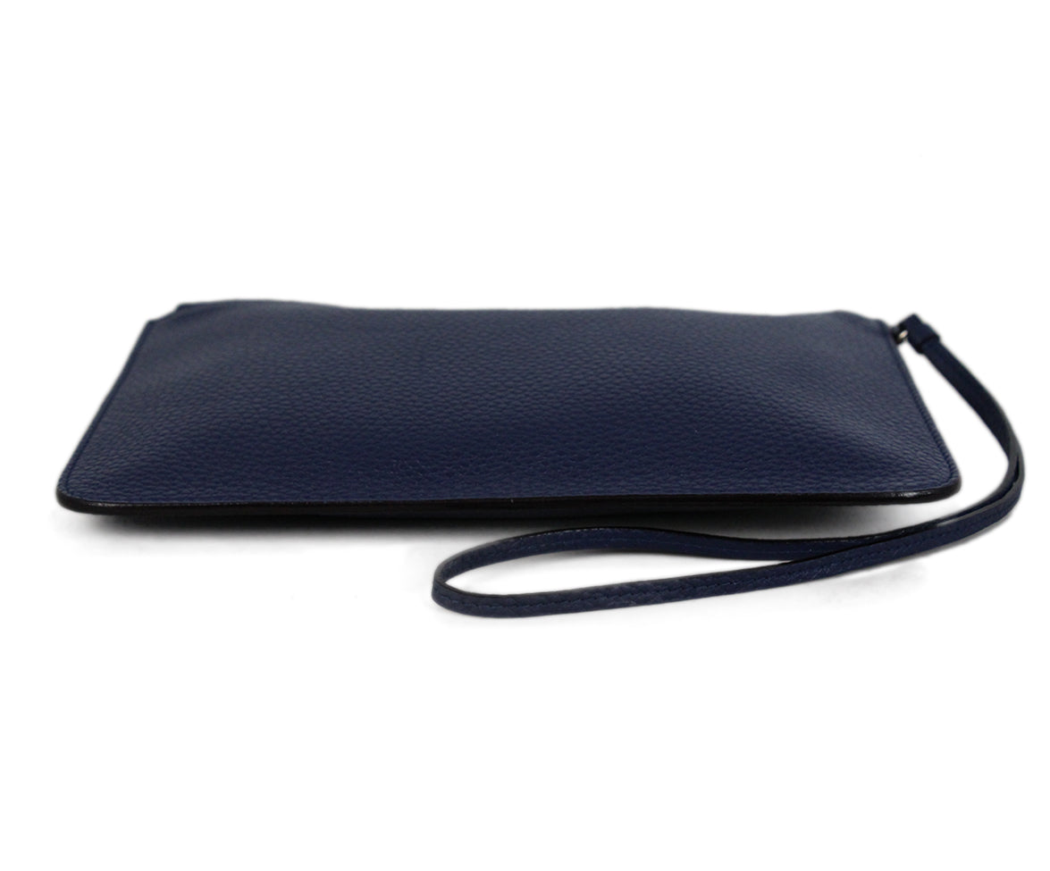 Christian Dior Navy Leather Wallet 4