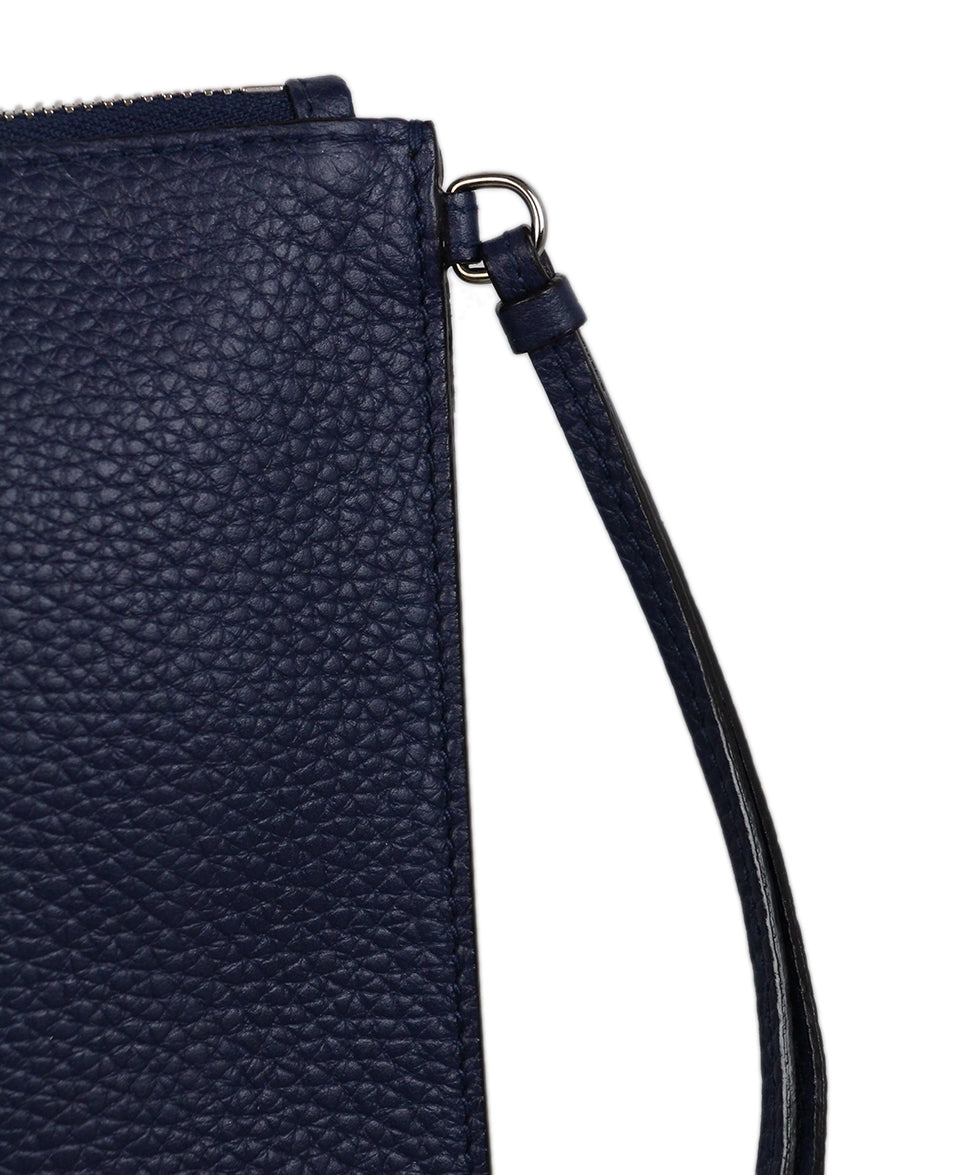 Christian Dior Navy Leather Wallet 7