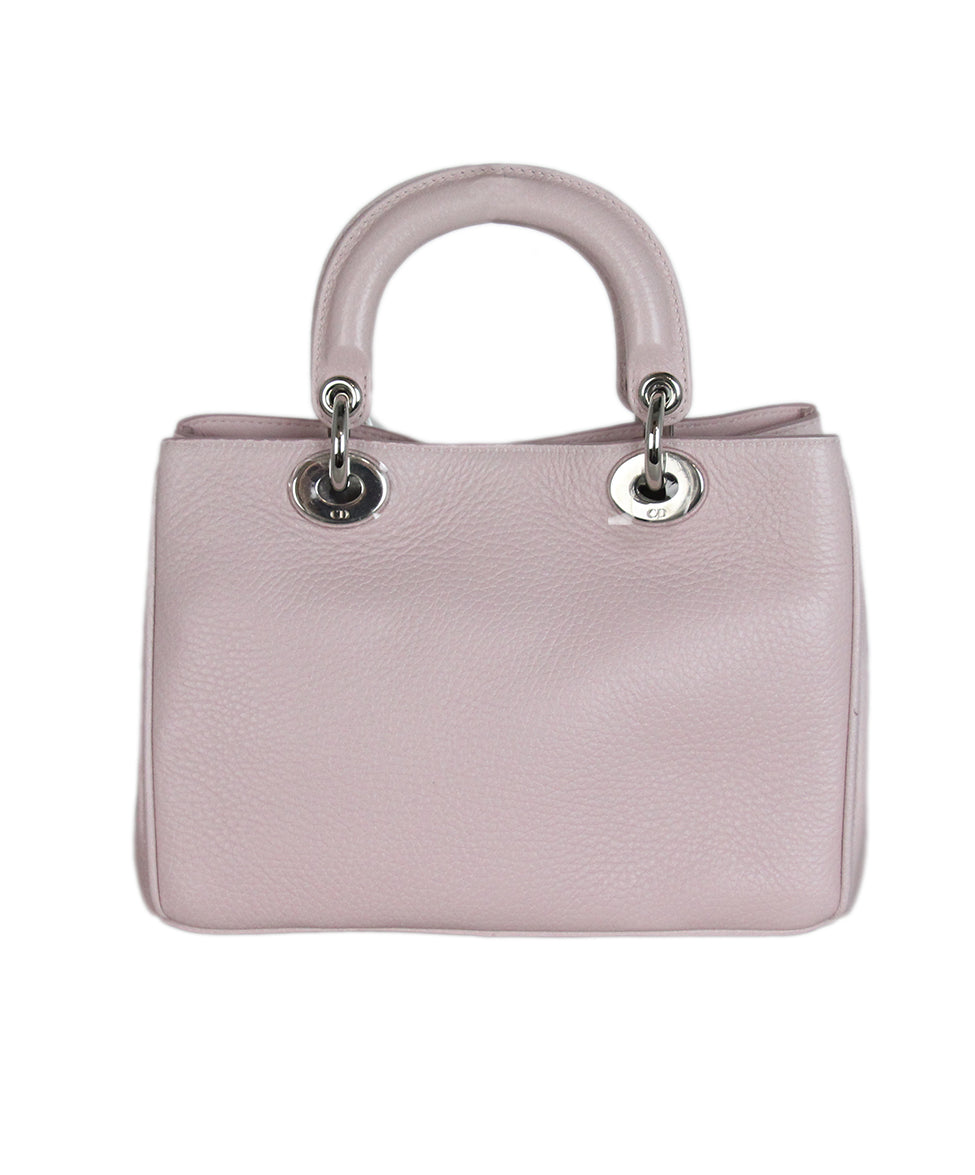Christian Dior Pink Floral Mini Lady Dior Bag 3