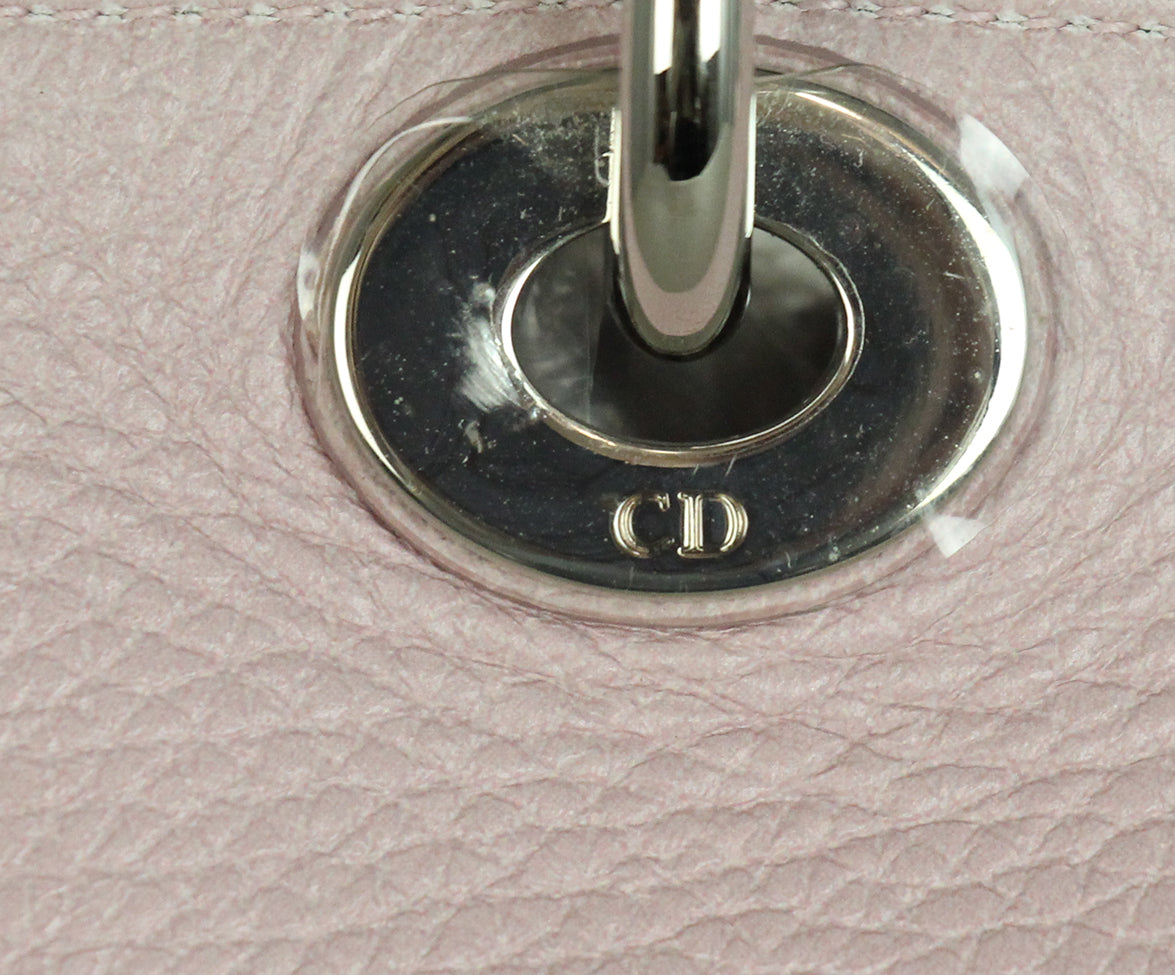 Christian Dior Pink Floral Mini Lady Dior Bag 8