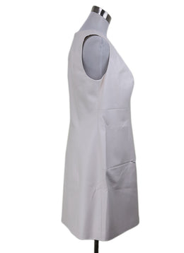 Christian Dior White Leather Dress 1