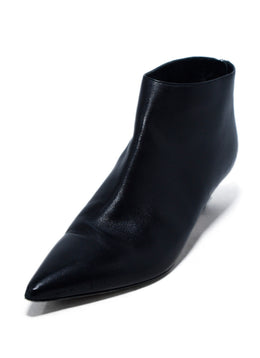 Christian Dior Black Leather Booties 1