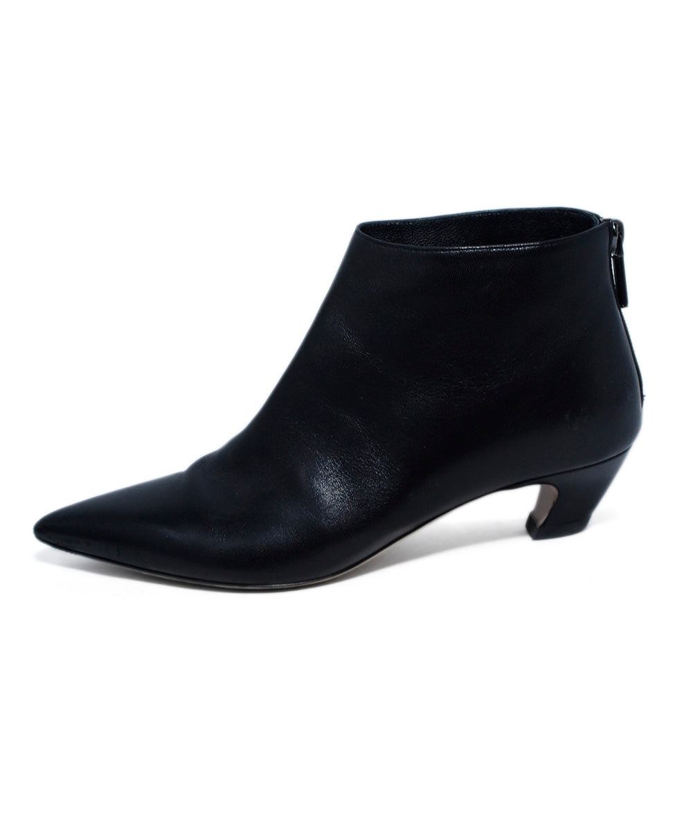 Christian Dior Black Leather Booties 2