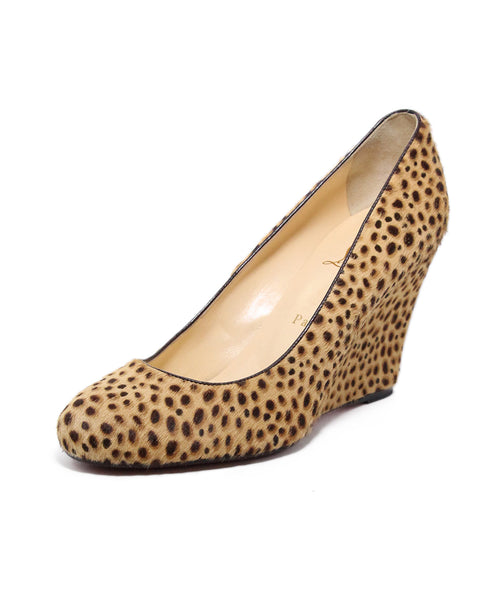 Christian Louboutin Animal Print Pony Hair Shoes 1