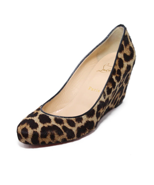 Christian Louboutin Animal Print Wedges 1