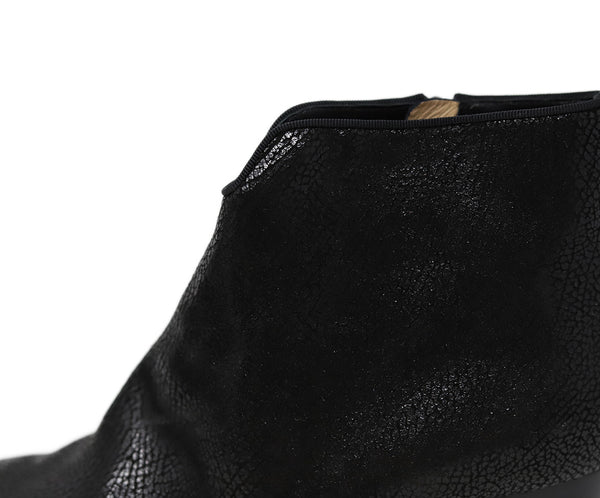 Christian Louboutin Black Leather Booties 6