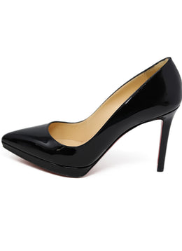 Heels Shoe Christian Louboutin Black Patent Leather Shoes 1