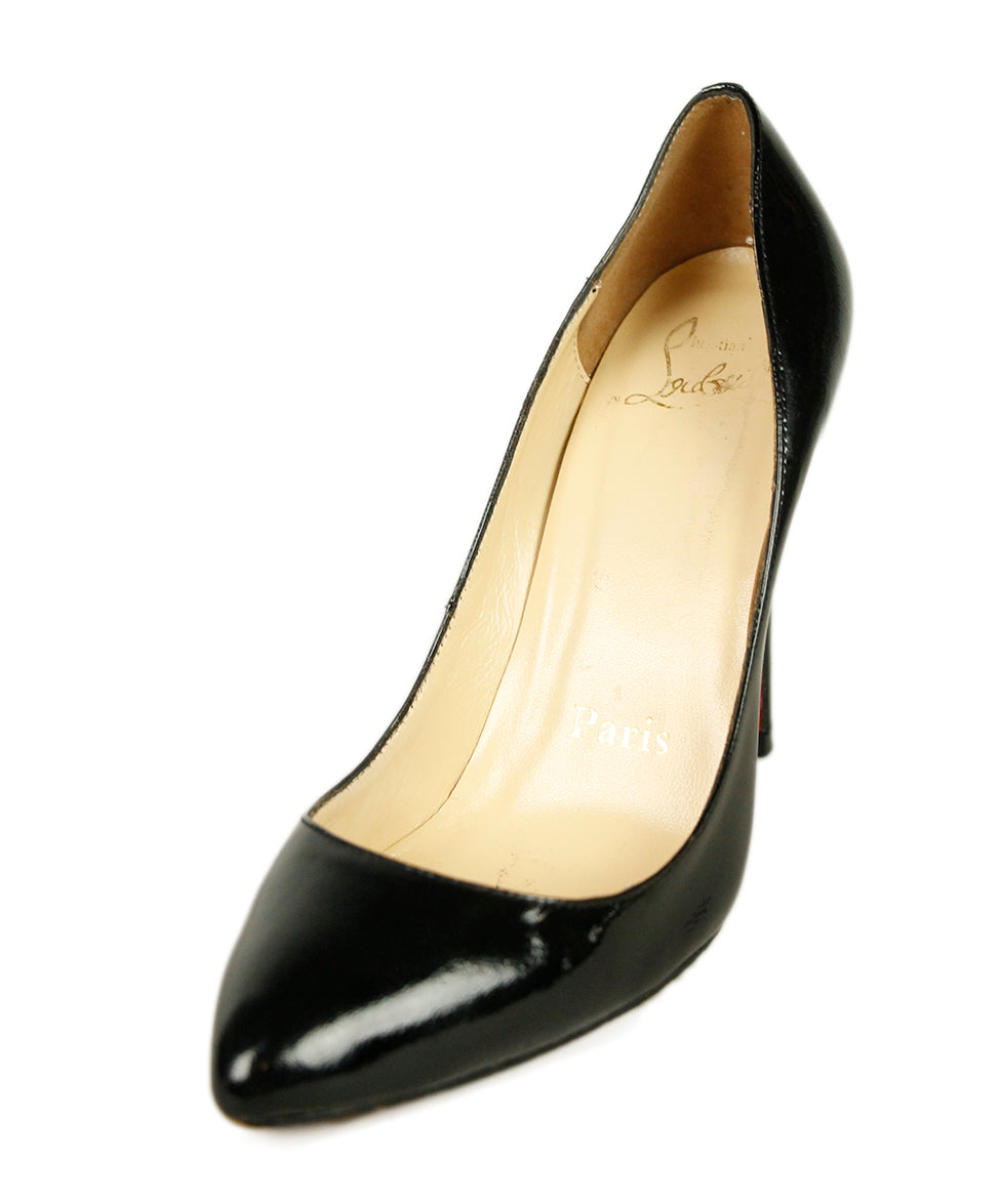 Christian Louboutin Black Patent Leather Shoes 1