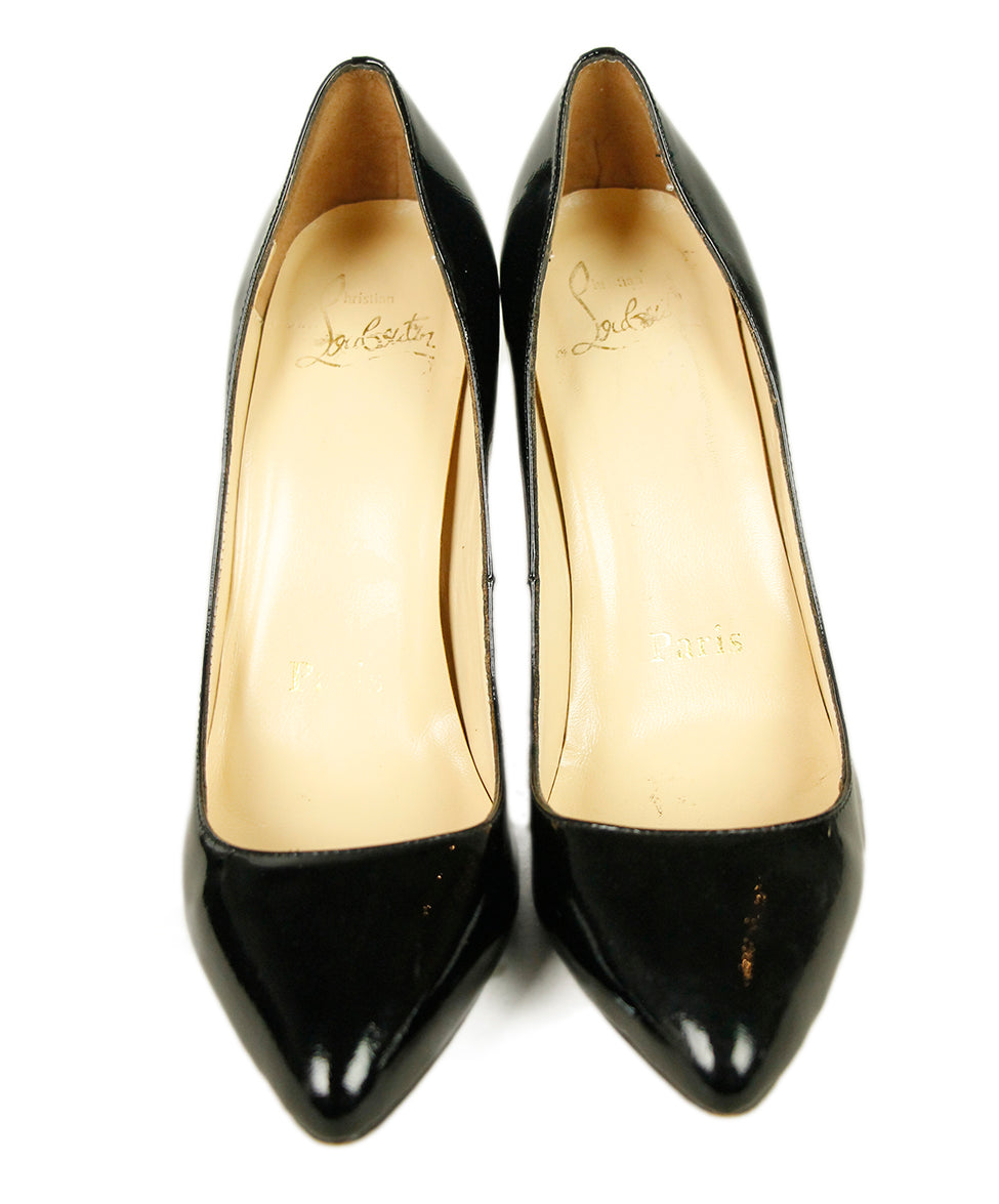 Christian Louboutin Black Patent Leather Shoes 3