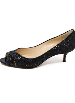 Christian Louboutin Glitter Shoes Heels 1