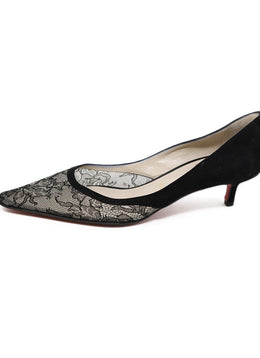 Christian Louboutin Black Lace Heels 2
