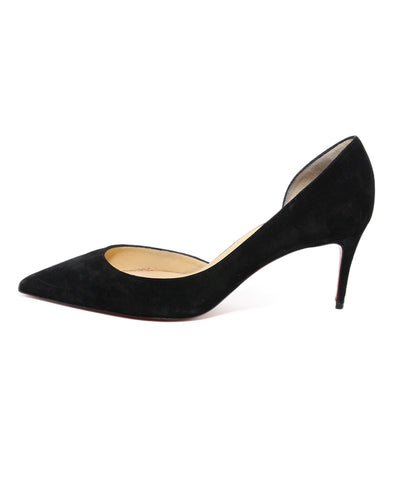 Christian Louboutin Black Suede Shoes 1