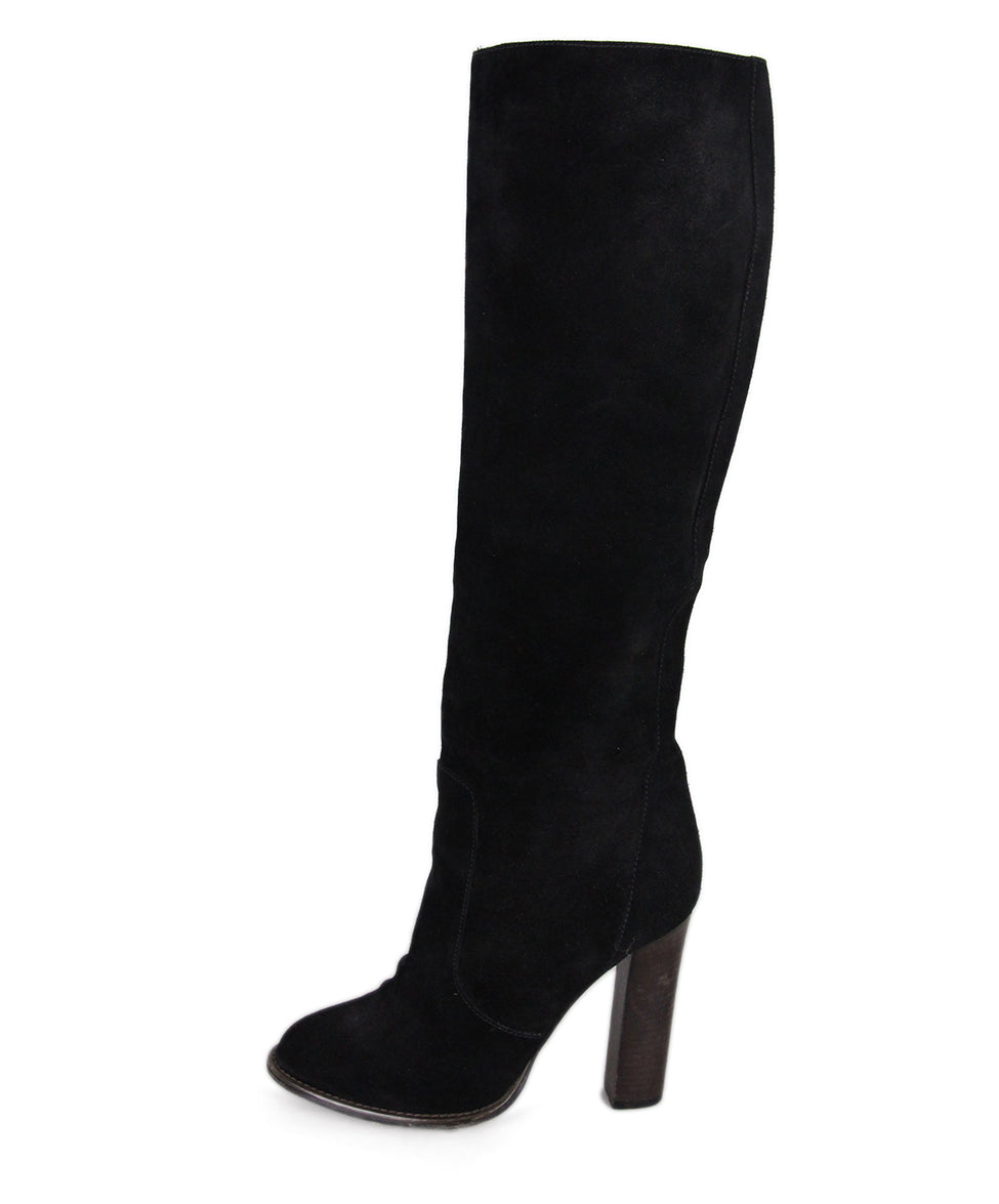 Christian Louboutin Black Suede boots 2