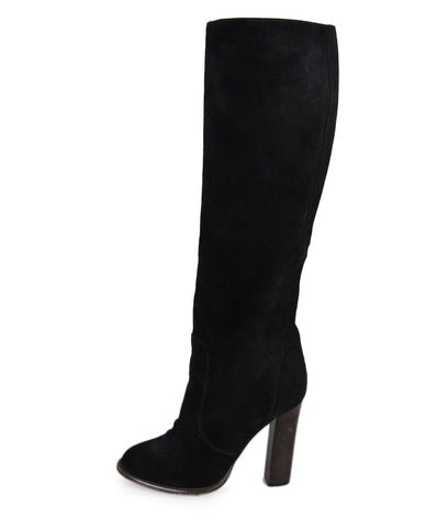 Christian Louboutin Black Suede boots 1