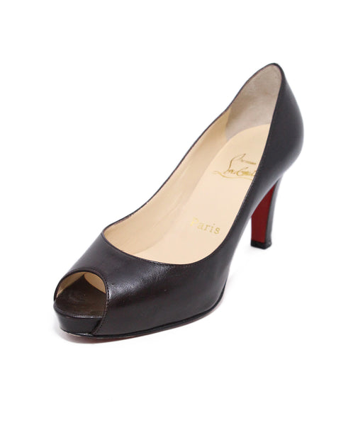 Christian Louboutin Brown Leather Heels 1