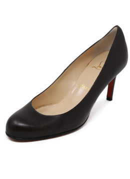 Christian Louboutin Brown Leather Shoes