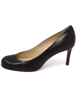 Christian Louboutin Brown Leather Shoes 1