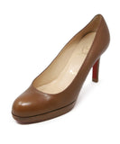 Christian Louboutin Tobacco Leather Shoes 1