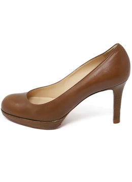 Christian Louboutin Tobacco Leather Shoes 2