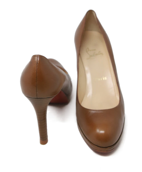 Christian Louboutin Tobacco Leather Shoes 3