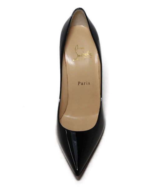 Christian Louboutin Black Patent Leather Heels 1