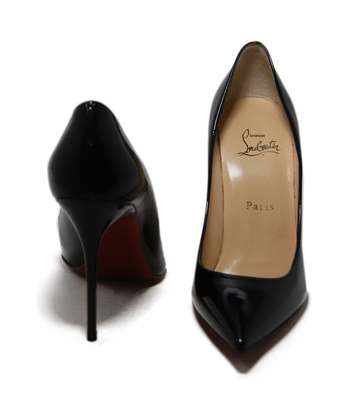 Christian Louboutin Black Patent Leather Heels 3
