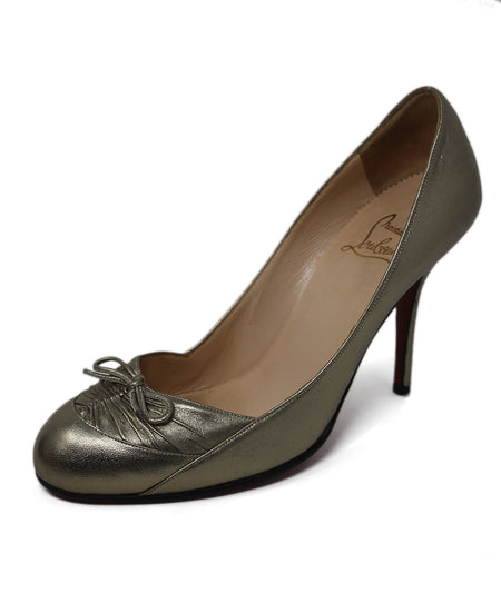 Christian Louboutin Black Leather Flats Sz 36.5