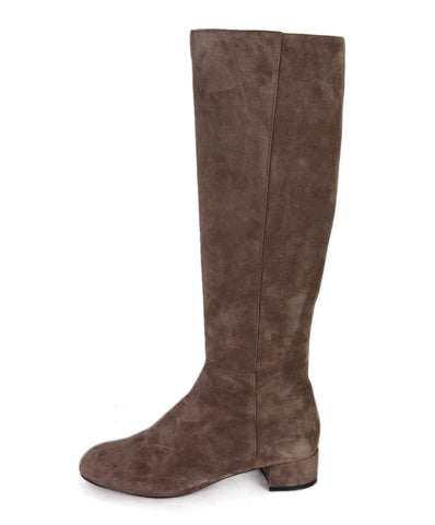 Christian Louboutin Tan Suede Boots 1