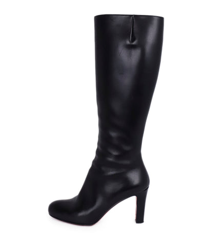 Christian Louboutin Black Leather Boots 1