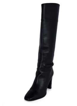 Christian Louboutin Black Leather Knee High Boots 1