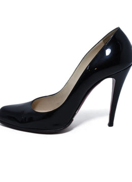 Christian Louboutin Black Patent Leather Heels 2
