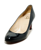 Christian Louboutin Heels Shoe Size US 9 Black Patent Leather Shoes 1