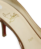 Christian Louboutin Brown Tobacco Leather Heels 7