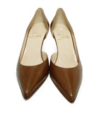 Christian Louboutin Brown Tobacco Leather Heels 4