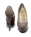 Christian Louboutin Neutral Nude Patent Leather Heels 3