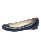 Christian Louboutin Black Leather Flats 2