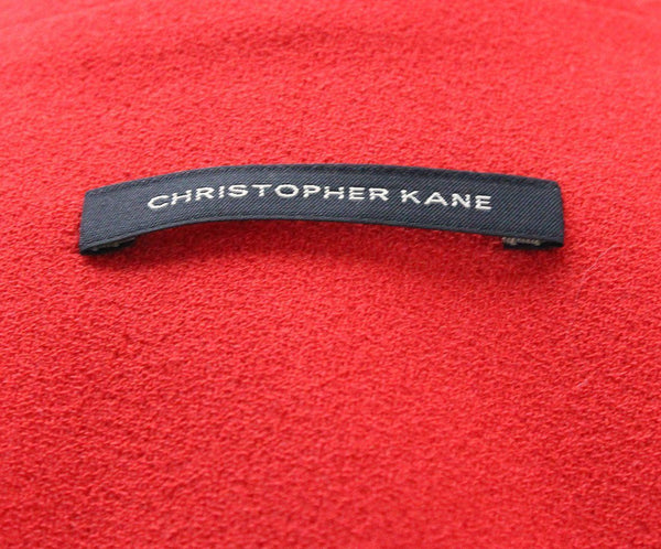 Christopher Kane Red Wool Silk Jacket 3