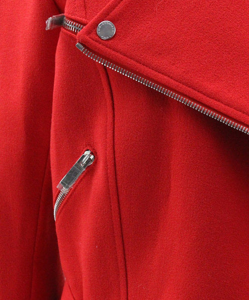 Christopher Kane Red Wool Silk Jacket 5