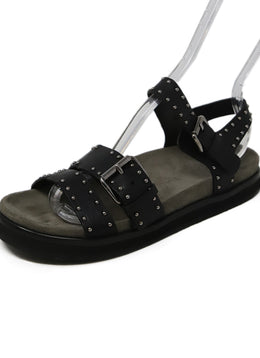 Church's Black Leather Studs Shoes 1