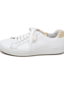 Church's White Gold Leather Shoes 2