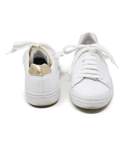 Church's White Gold Leather Shoes 3