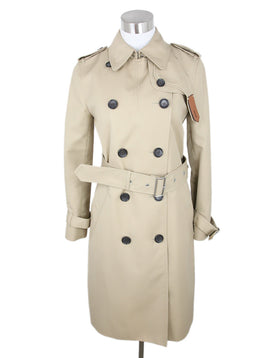 Coach Khaki Cotton Trenchcoat 1