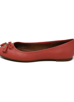 Coach Pink Leather Flats 1