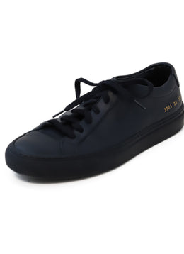 Common Projects Black Leather Sneakers