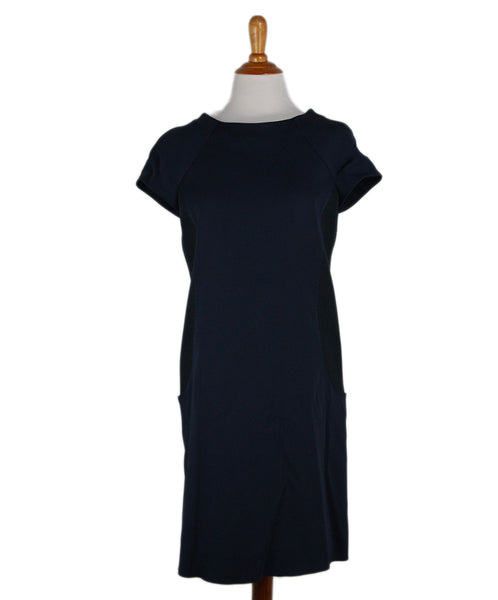 Courreges Navy Viscose Dress 1
