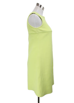 Courreges Yellow Cotton Elastane Spandex Dress 2